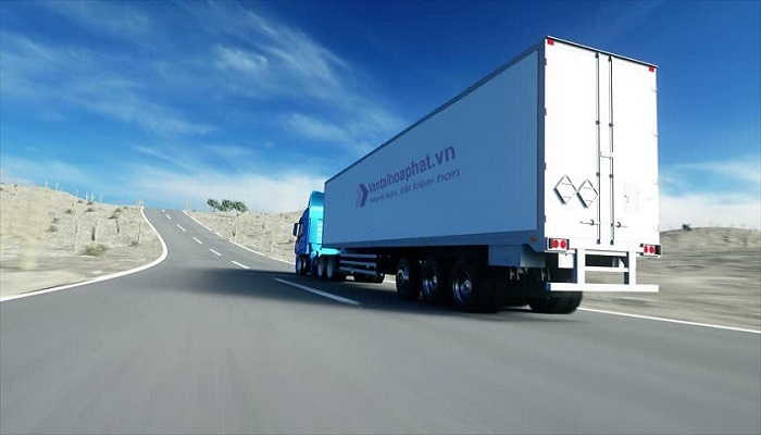 Xe container vận chuyển bắc nam