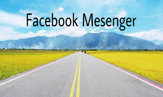 Facebook mesenger - Công cụ hữu hiệu dành cho cánh tài xế