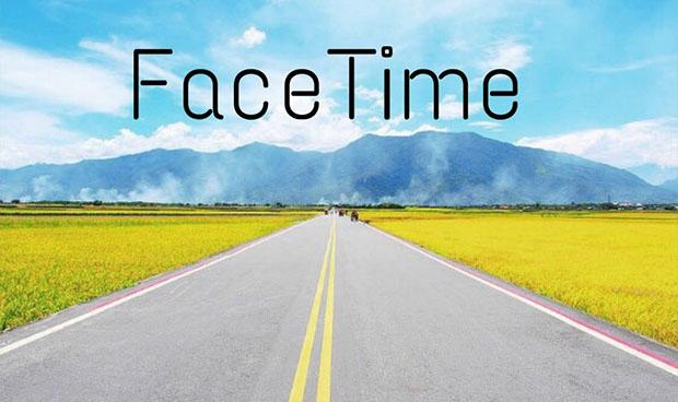Sử dụng Facetime để giữ kết nối khi tài xế lái xe đường dài
