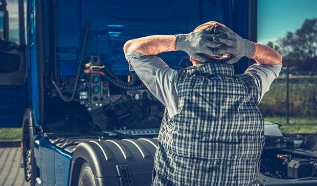 Lời khuyên về sức khỏe cho người lái xe tải