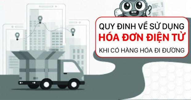 Hàng hóa đi đường không kèm theo hóa đơn sẽ bị xử phạt thiếu chứng từ khi đi đường